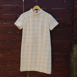 60's Vintage Tunic Cut Scooter Dress